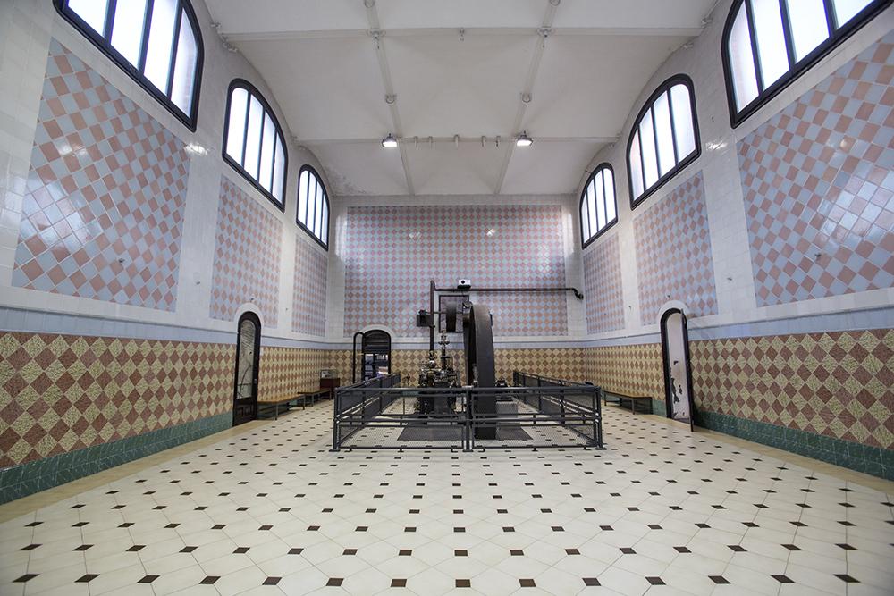 Steam engine room (Photo: Mireia Comas)