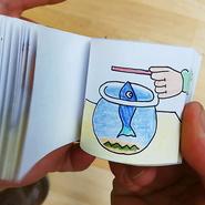 """Ciència en família: Taller """"Construïm un flipbook o llibre animat"""""""