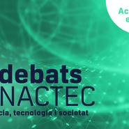 #DebatsMNACTEC:  Revolución tecnológica y transformación digital. ¿Hacia dónde vamos? (en línea)
