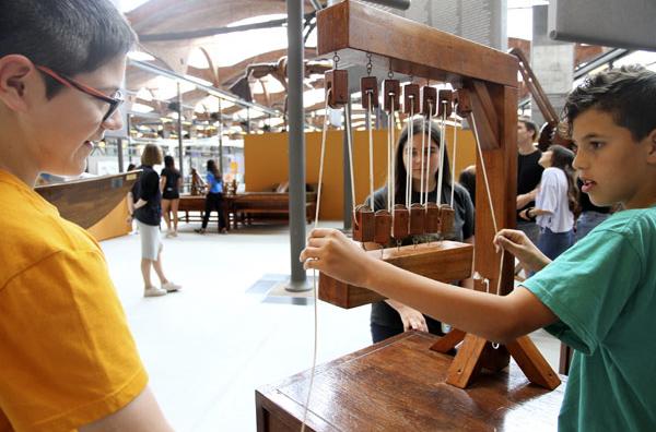 """Ciència en família: """"Visita guiada a l'exposició temporal Leonardo da Vinci: el geni i els invents"""""""