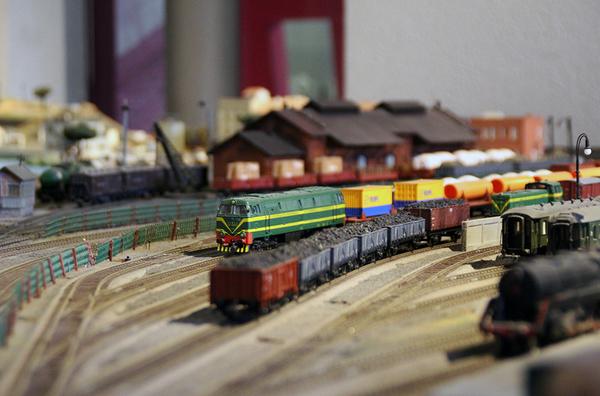 #FiraModernista | Circulacions de trens a la maqueta ferroviària