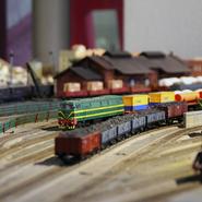 #DiadelsMuseus | Circulacions de trens a la maqueta ferroviària