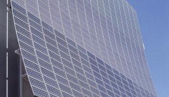La fachada fotovoltaica