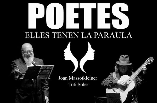 #JEP | Recital 'POETES Elles tenen la paraula' (Joan Massotkleiner i Toti Soler)