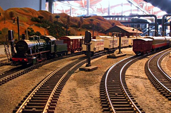 La maqueta ferroviària