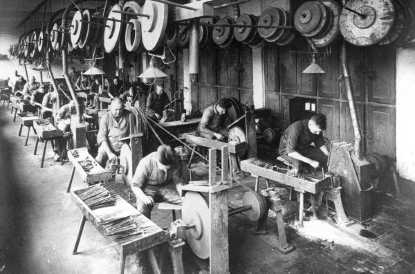 SOLINGEN, centre industrial ganiveter
