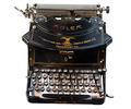 Màquina d'escriure Adler, model núm. 7