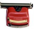 Máquina de escribir Optima Büromaschinenwerk, modelo Bambino