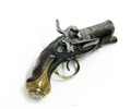Muzzleloader pistol with piston