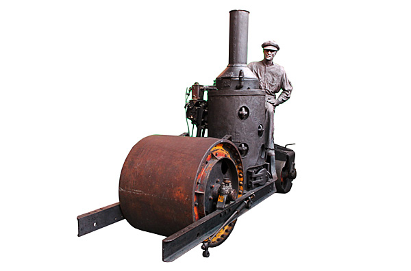 Iroquois steam roller