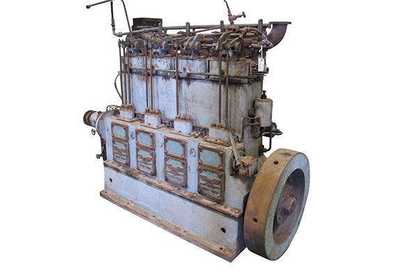Motor dièsel de submarí E.B.