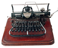 Màquina d'escriure portàtil Blickensderfer / Model núm. 7