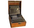 Réplica de la máquina de encriptar Enigma