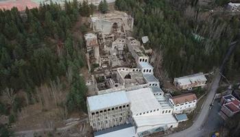 Consolidation work begins on the former Asland cement factory in Castellar de n'Hug
