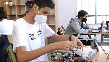 INS Nicolau Copèrnic high school in the Carles Capdevila bursaries