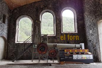 El Museu del Ciment inaugura un horno de pruebas