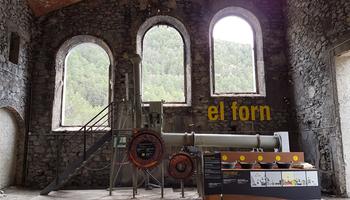 El Museu del Ciment inaugura un forn de proves