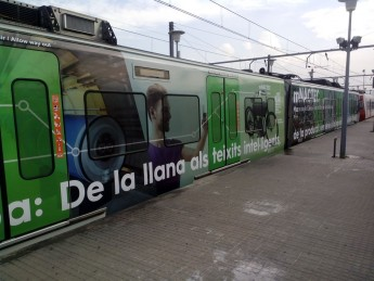 Personalised train with mNACTEC details