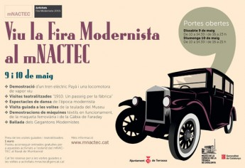 13th Modernist Fair at the mNACTEC