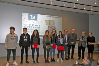 Entrega I Premio Literario mNACTEC para jóvenes