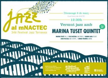 Marina Tuset Quintet, en el Vermut jazz del mNACTEC