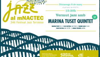 Marina Tuset Quintet, al Vermut jazz del mNACTEC