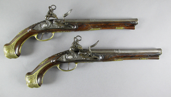 Acquisition of two 18th-century pistols