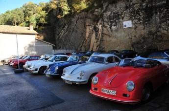 Trobada de Porsche del Clàssic Motor Club del Bages
