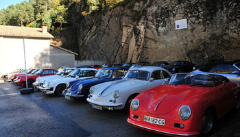 Bages Classic Motor Club Porsche rally