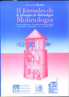 Actes de les II Jornades de Molinología
