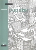 Papermaking vocabulary