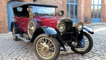 Functional restoration of a 16HP Hispano Suiza car from 1919
