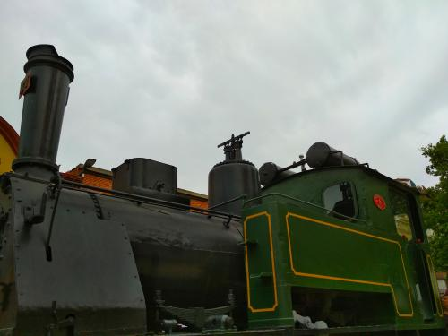Locomotora model Berga