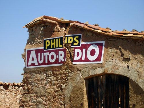 Rètol Philips Autoradio